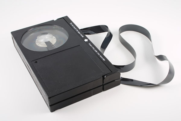 video cassette tape malfunction