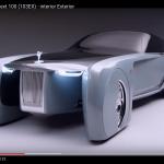 究極の超高級車の未来。ロールスロイス、AI搭載コンセプトカー動画