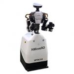 日立、レールやガイドなしで産業用ロボットを自律走行させる装置を発売