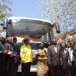 アフリカ初の太陽光発電で動くバス、ウガンダで始動 (三島一孝,[スマートジャパン])