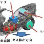 水素で走る「燃料電池バイク」を公道へ、国交省が世界初の安全基準を策定 (陰山遼将,[スマートジャパン])