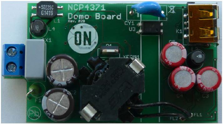 NCP4371 demo board