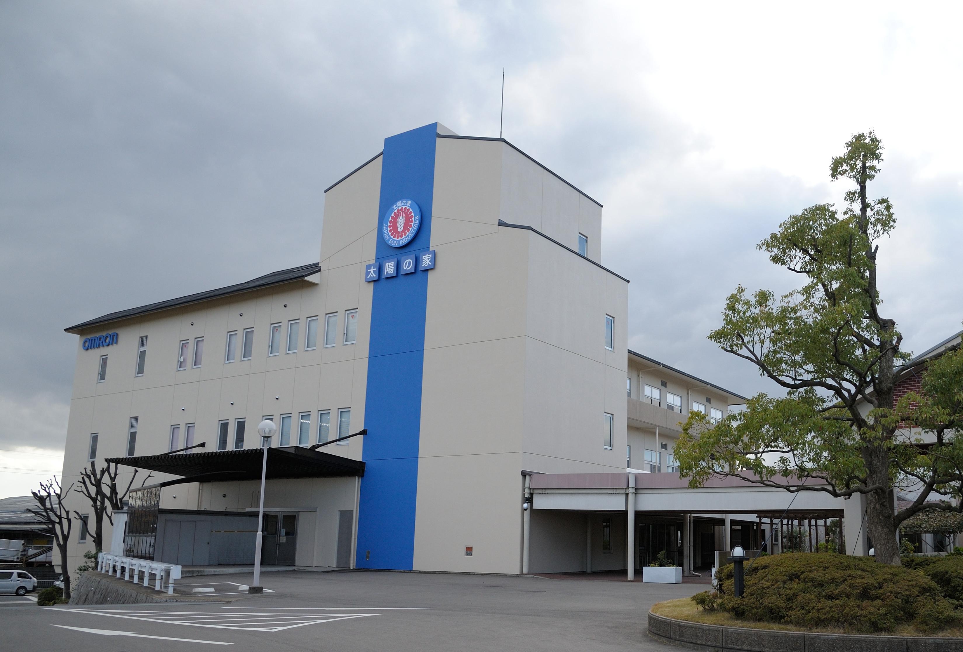 オムロン京都太陽_工場外観