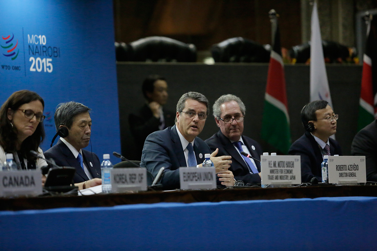 WTO Ministerial Conference - Day 2