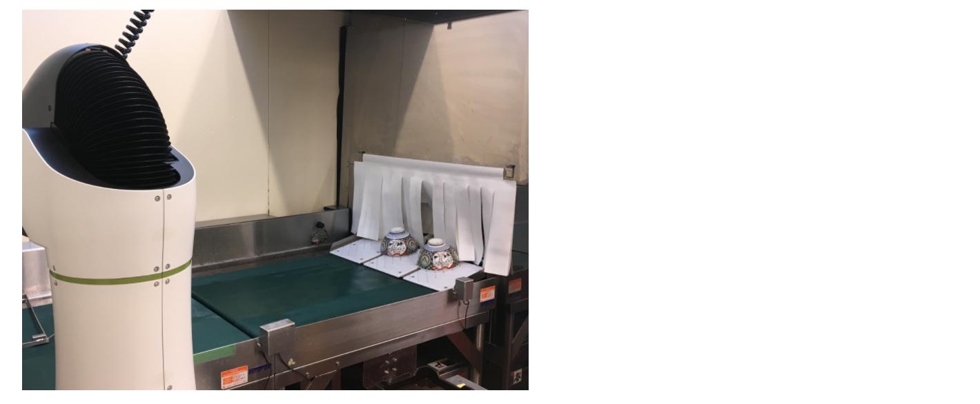 食洗機による食器洗浄工程