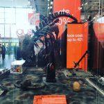 <動画>IGUS恐竜ロボット。低価格で作れるロボットキット[ハノーバーメッセ訪問記⑦]