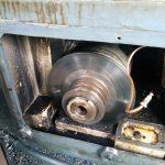 MS-850ブレーキディスク修理