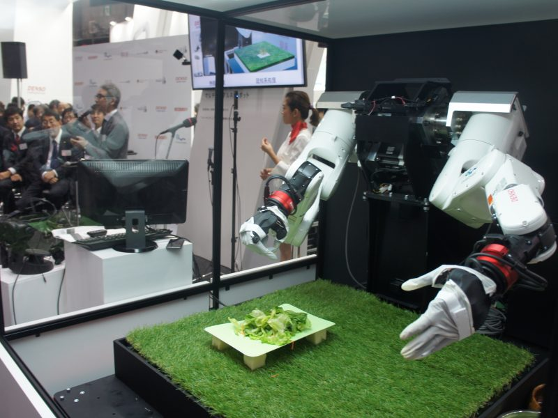 デンソーウェーブ国際ロボット展