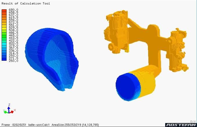 日立産業制御_湯流れ解析の移動物体考慮機能によるダイカスト鋳造シミュレーション例