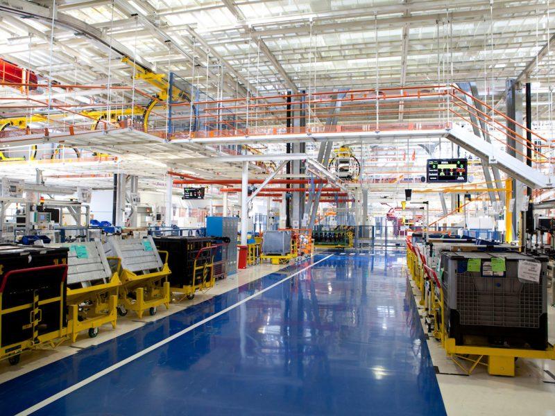 factory building interior