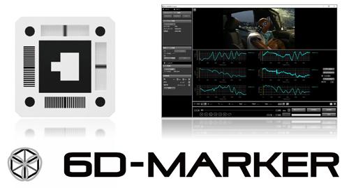フォトロン_6D-MARKERと6D-MARKER Analyst操作画面
