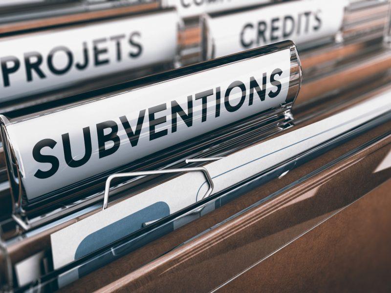 Demande de Subventions