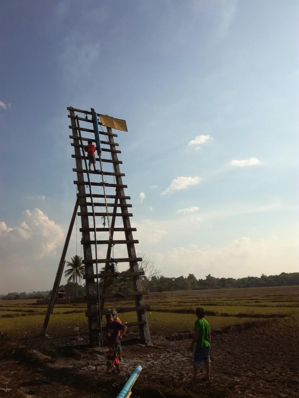 ラオス正月ロケット04
