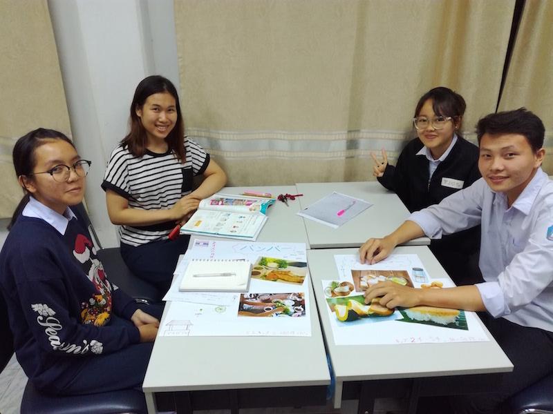日本語をがんばって勉強しているラオス人がいます!!_04