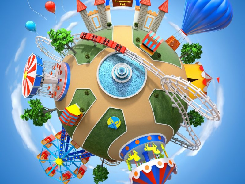 Amusement park planet