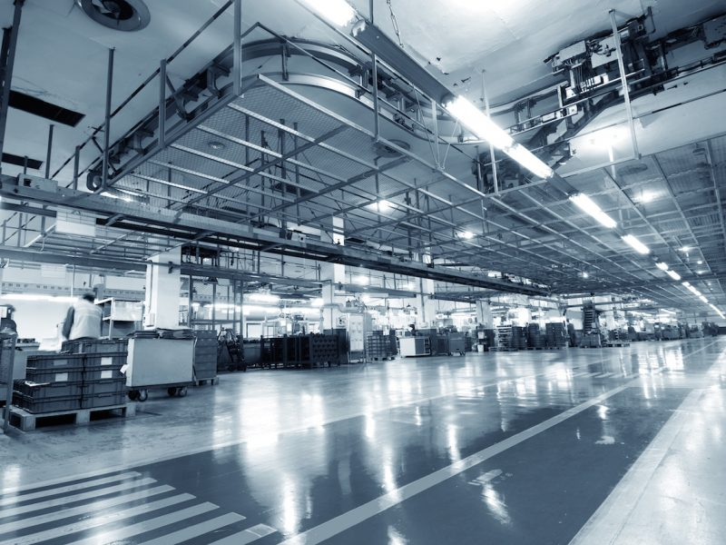 Production of automobile engine plant