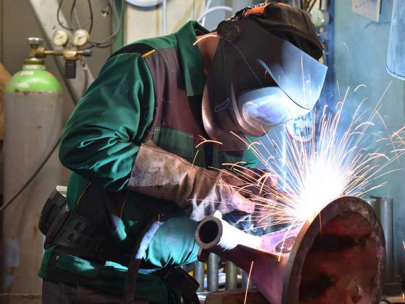 Schweißer in der Industrie // welder in industry