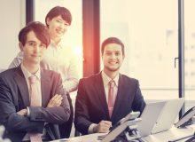 若いビジネスチーム