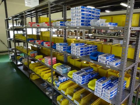 在庫商品の整頓