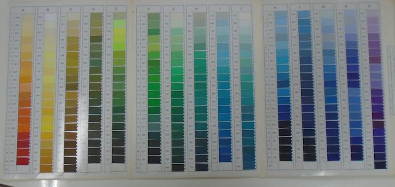 YKKのジッパー(ファスナーテープ)は色がいっぱい_03