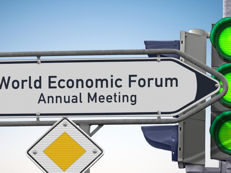 Singpost WEF Annual Meetingsymbolic image