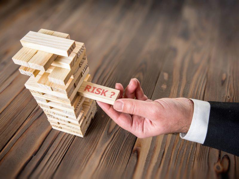 Businessmen Taking Risk To achieve