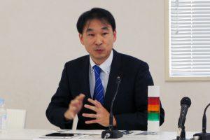 NTT東日本の酒井担当部長