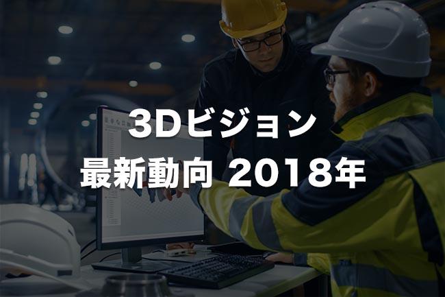 3Dビジョン 最新動向(2018年末版)「ワークから工場内、地理環境まで可視化する3Dビジョン」