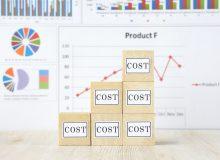 コストの増加イメージ
