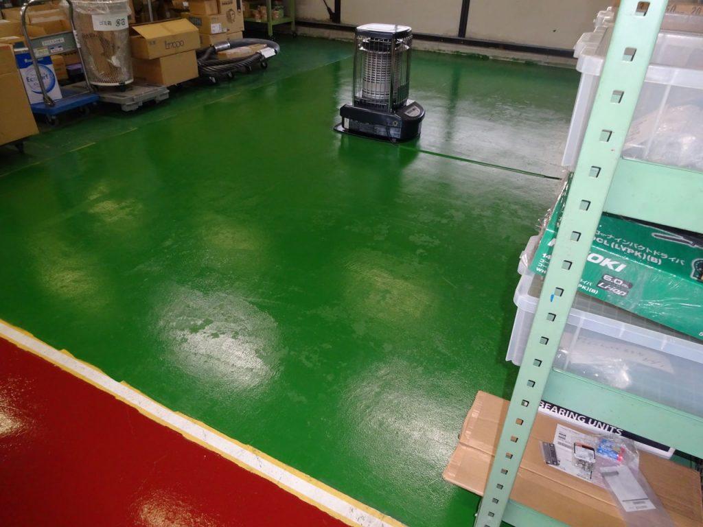 倉庫の床塗装_01