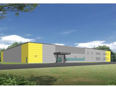 新ロボナノ工場の完成予想図