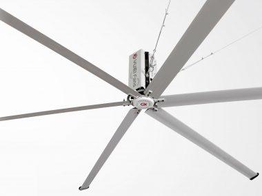 静音で省電力・ハイパワーモーター搭載のユーエイファン
