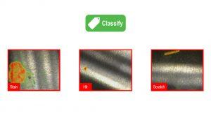 ViDi分類(緑) 対象物やシーンを分類