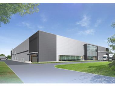 新工場外観イメージ図