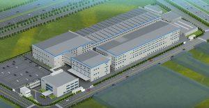 南京東陶新工場(仮称)の外観イメージ