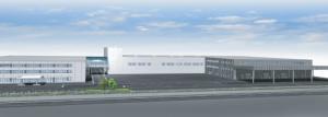 広島工場 完成イメージ