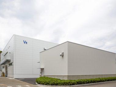 精密コンポーネント開発・イノベーションセンターV6棟外観