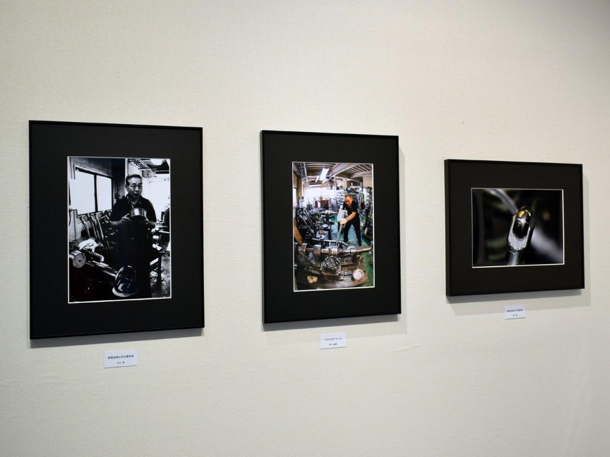 東大阪市民美術センターで「東大阪町工場写真展」 会場BGMは「工場の音」