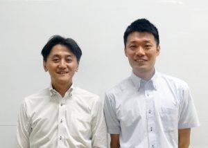スマートインダストリー本部 北野氏(左)と高野氏
