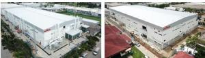 工場情報_村田製作所_新生産棟、EMIフィルタ生産用(左)とアンテナコイル生産用