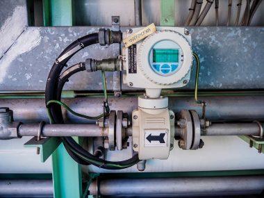 流量計と配管