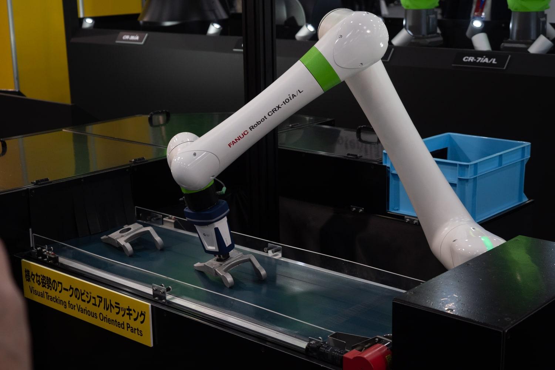 ファナックの協働ロボット新製品2