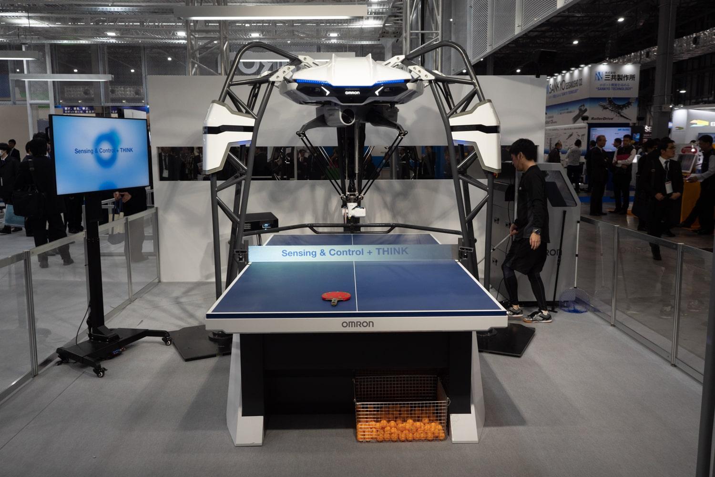 オムロンの卓球ロボット2