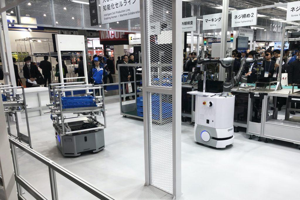 ロボットモバイルオムロン