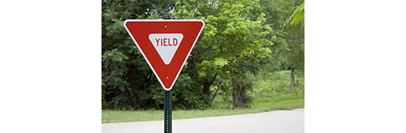yield-sign-park-green-tree