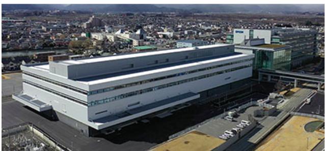 工場情報_セイコーエプソン_イノベーションセンターB棟 外観