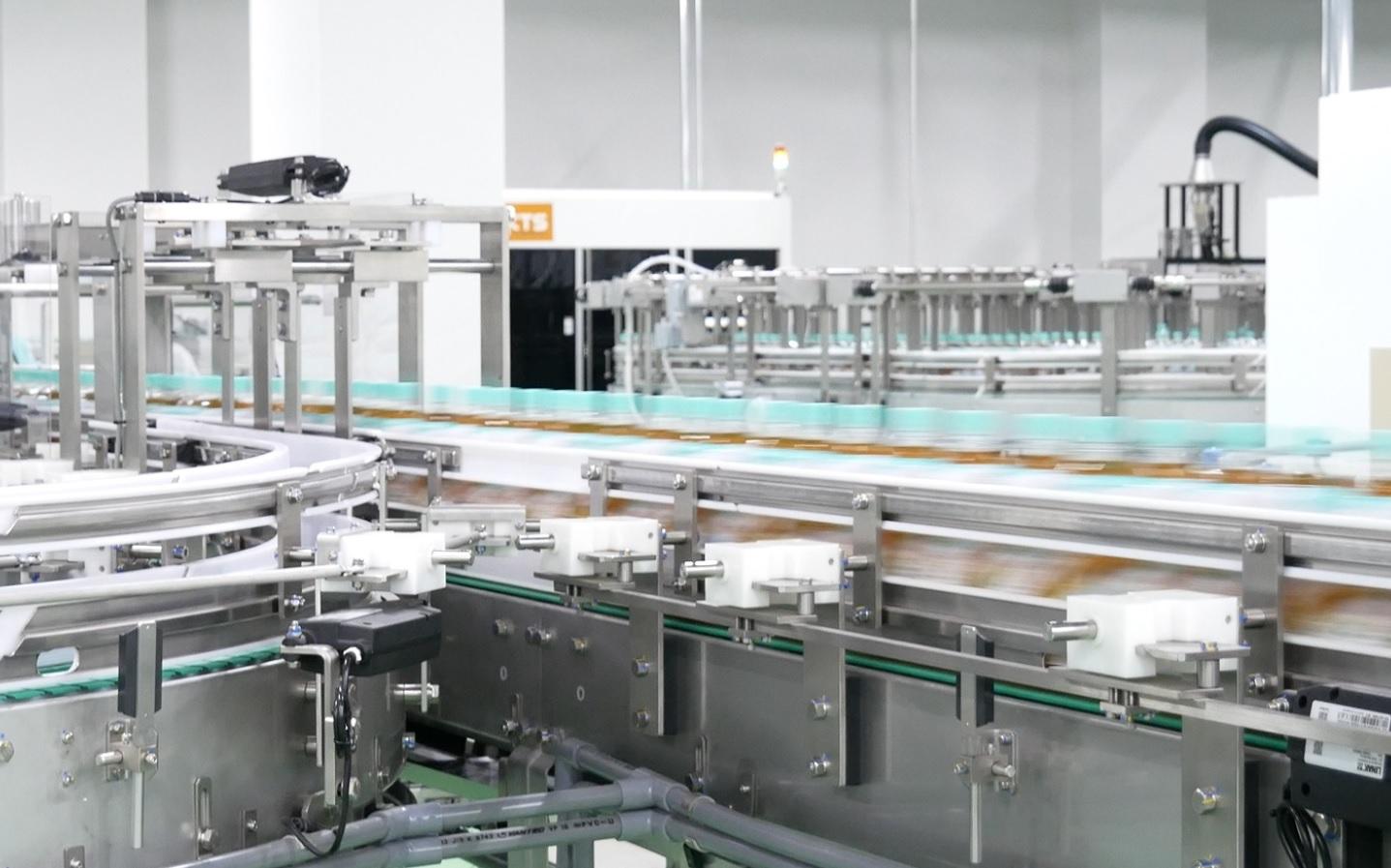 工場情報_コカ・コーラ_広島工場製造ライン
