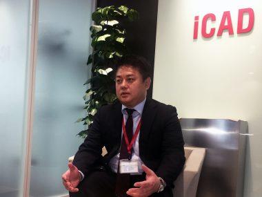 富士通[人物写真]iCAD株式会社 技術部 部長 緒方秀樹