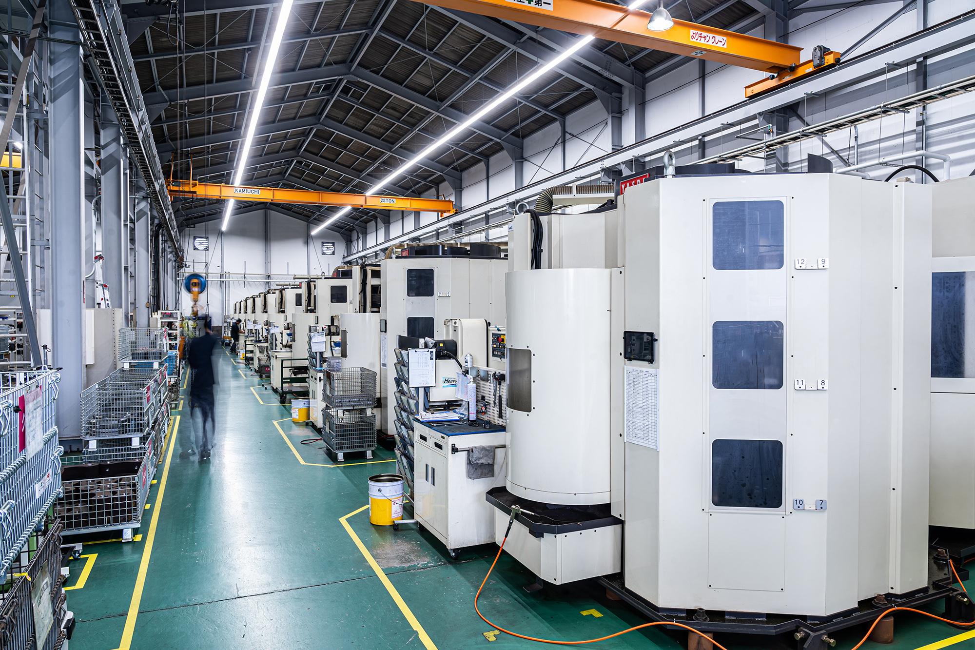 タグチ工業 大山工場導入予定の工作機械