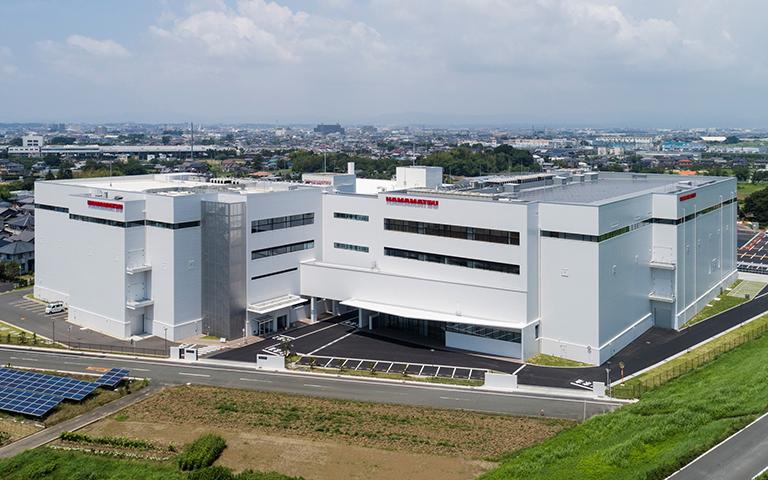 工場情報_浜松ホトニクス_新貝工場 2棟 外観